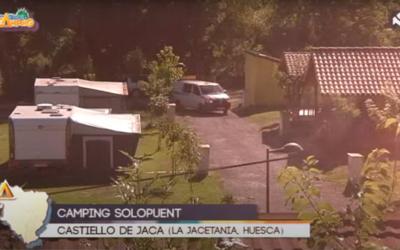 Nos vamos de camping Aragón TV