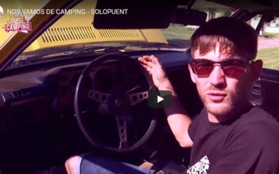 Concentración de coches Scirocco en el camping Solopuent