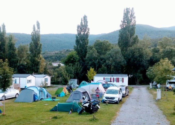 camping en castiello de jaca